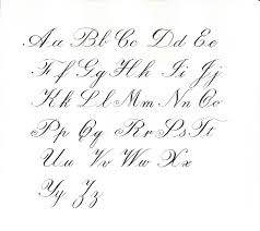 calligraphy letter charts calligraphy letterscalligraphy letters