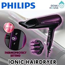 Philips Hp8230 Hair Dryer Thermoprotect 2100w qoo10 hairdryer home electronics