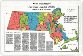 Massachusetts City Map by Historical Districts