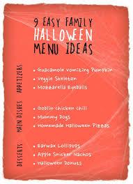 Cool Easy Dinner Ideas 9 Easy Family Halloween Menu Ideas From Cul De Sac Cool The