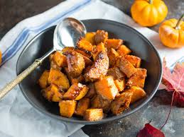 sweet potatoes recipes for thanksgiving roasted sweet potatoes with miso butter and maple recipe serious