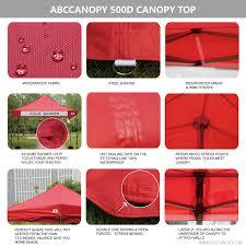 Heavy Duty Gazebo Bag by 10x10 Abccanopy Pop Up Canopy Commercial Shelter Backyard Gazebo