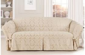Three Cushion Sofa Slipcovers Lovely Figure White Sofa Protector Perfect Corner Sofa Bed For