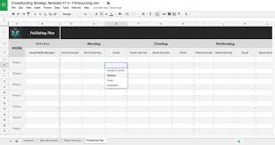 crowdfunding planning template free download