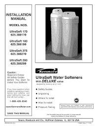 kenmore water system ultrasoft 280 pdf user u0027s manual free download