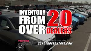 toyota inventory buddy plan 3 we shop for you at toyota of santa fe new mexico