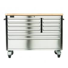 stainless steel workbench cabinets trinity 48 stainless steel workbench b grade trinity store