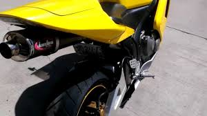 cheap honda cbr600rr 2003 honda cbr600rr w jardine full exhaust yellow youtube