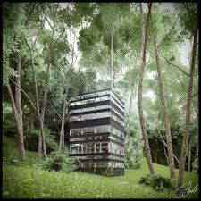 beautiful house in the forest the latest japanese architecture