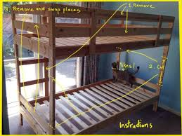 Ikea Tuffing Bunk Bed Hack Diy Idea Ombre Your Mydal Bunk Bed Frame Like This Ikea Fan