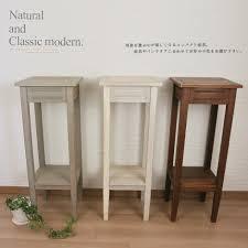 Modern Wood Planter by Plant Stand La Life Rakuten Global Market Flower Stand Wood