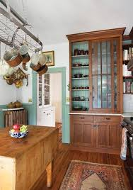 rustic glass kitchen cabinets 15 cool wood cabinets ideas for rustic kitchens shelterness