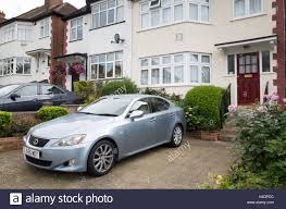 lexus north west uk front garden parking uk stock photos u0026 front garden parking uk