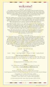 the cheesecake factory menu menu for the cheesecake factory