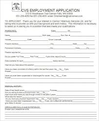 190 job application form sample example format documents