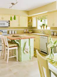 yellow kitchen ideas with white cabinet and backsplash 1649