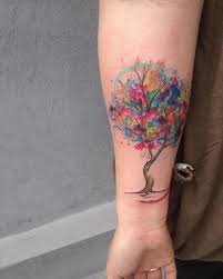 41 best watercolor tree life tattoo images on pinterest