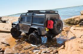 lifted land rover defender traxxas trx 4 trx4 crawler land rover defender 110 c trx82056 4