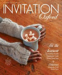 invitation oxford holiday 2014 by invitation magazines issuu