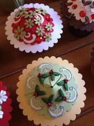my friend jeanne ciolli and friends designed these cupcake