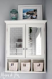 bathroom wall storage ideas white mirror cabinet bathroom with 10 tips for designing a small