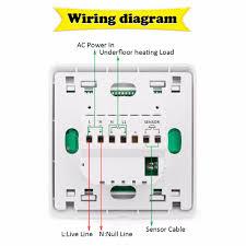 1 pc floureon digital temperature controller lcd display white 5 2