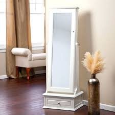 Armoire With Mirrored Front For Helen Jewelry Armoire U2013 Black List Price Armoires Over