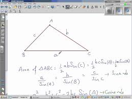 area of an octagon using trigonometry youtube
