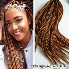 ombre human braiding hair 5pack 20inch purple blonde ombre 3s box braids crochet hair low