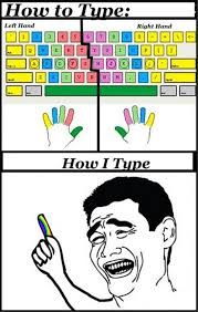 Typing Meme - i can type decently but i think the people who created this