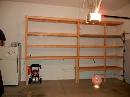 Woodworking Storage Shelf Plans by Wood Garage Shelving Ideas Wood Garage Shelving Ideas
