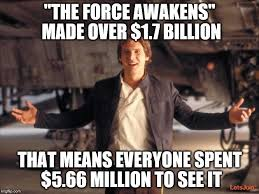 Star Wars Meme Generator - han solo new star wars movie meme generator imgflip