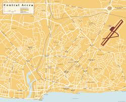 Kbcc Map Map Of Accra Travelsmaps Com