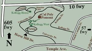 cal poly pomona cus map kellogg directions and maps