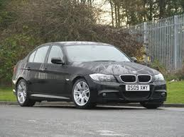used bmw 3 series uk used 2009 bmw 3 series saloon black edition 320i m sport petrol