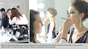 hair and makeup school top professional hairstyling and makeup graduate fiona kennedy