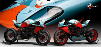 gulf racing motorcycle paolo tesio ducati monster ms4r custom motorcycles
