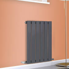 Designer Kitchen Radiators Horizontal Flat Panel Single Column Designer Modern Radiators