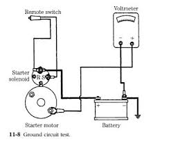 starting and generating systems starter circuits electrical