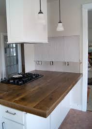 Island Kitchen Counter Diy Reclaimed Wood Countertop Averie Lane Diy Reclaimed Wood