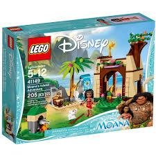 lego kitchen island amazon com lego l disney moana moana s island adventure 41149
