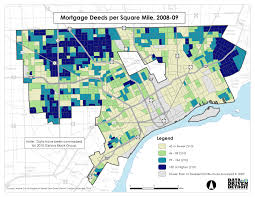 Map Of Metro Detroit by Data Driven Detroit City Of Change Detroit U0027s Continuing