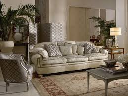 Oversized Living Room Furniture Sets by Elegant Cream Vinyl Three Seater Traditional Sofas With Oversize