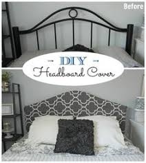 No Headboard Ideas by Iron Headboard Makeover Headboard Makeover Iron Headboard And Iron