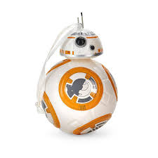 blown glass figural wars bb 8 ornament