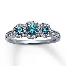 Blue Wedding Rings by Free Diamond Rings Cheap Blue Diamond Engagement Rings Blue