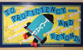 proficiency bulletin board myclassroomideas