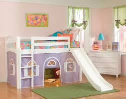 furniture endearing bunk bed with slide for two kids photo of