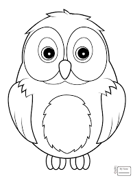 birds funny little owl owls coloring pages coloringbooks7 com