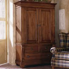 Tv Armoire Country Lacquered Pine Wood Tv Cabinet With Drawers Of Dazzling